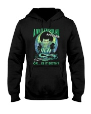 A Wild Cathulhu Appears Hooded Sweatshirt front