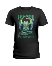 A Wild Cathulhu Appears Ladies T-Shirt thumbnail