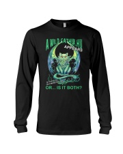 A Wild Cathulhu Appears Long Sleeve Tee thumbnail