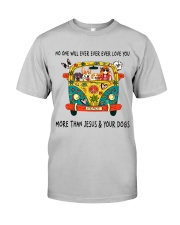 No One Ever Love You Classic T-Shirt front