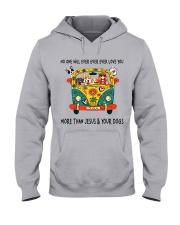 No One Ever Love You Hooded Sweatshirt thumbnail