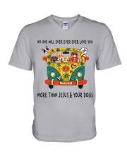 No One Ever Love You V-Neck T-Shirt thumbnail