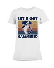 Get Hammered Premium Fit Ladies Tee thumbnail