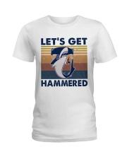 Get Hammered Ladies T-Shirt thumbnail