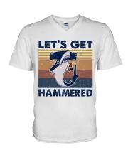 Get Hammered V-Neck T-Shirt thumbnail