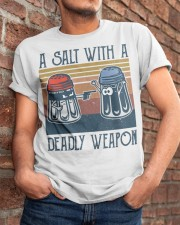 A Salt With A Deadly Weapon Classic T-Shirt apparel-classic-tshirt-lifestyle-26