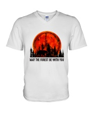 May The Forest Be With You V-Neck T-Shirt thumbnail