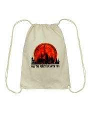 May The Forest Be With You Drawstring Bag thumbnail