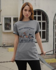 Never Underestimate An Old Man Classic T-Shirt apparel-classic-tshirt-lifestyle-19