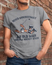 Never Underestimate An Old Man Classic T-Shirt apparel-classic-tshirt-lifestyle-26
