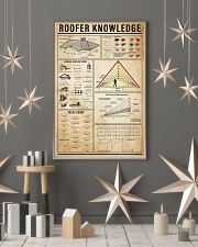 Roofer Knowledge 11x17 Poster lifestyle-holiday-poster-1