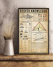 Roofer Knowledge 11x17 Poster lifestyle-poster-3