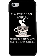 Coffee And Skulls Phone Case thumbnail