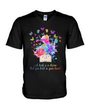 A Book Is A Dream V-Neck T-Shirt thumbnail