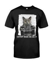 Catnip Made Me Do It Premium Fit Mens Tee thumbnail