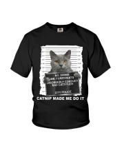 Catnip Made Me Do It Youth T-Shirt thumbnail
