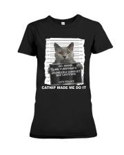 Catnip Made Me Do It Premium Fit Ladies Tee thumbnail