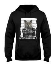 Catnip Made Me Do It Hooded Sweatshirt thumbnail