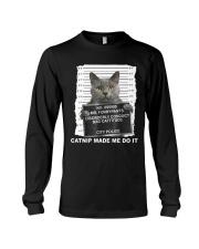 Catnip Made Me Do It Long Sleeve Tee thumbnail