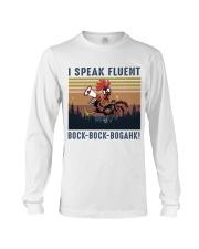 I Speak Fluent Long Sleeve Tee thumbnail