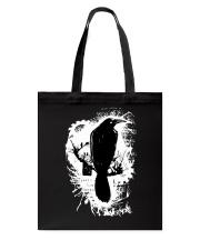 Black Bird Tote Bag thumbnail