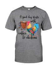 A Good Day Classic T-Shirt front
