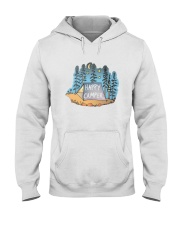 Happy Camper Hooded Sweatshirt front