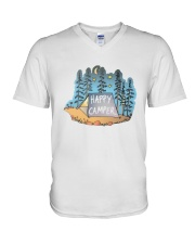 Happy Camper V-Neck T-Shirt thumbnail