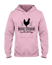 Wicked Chickens Hooded Sweatshirt front