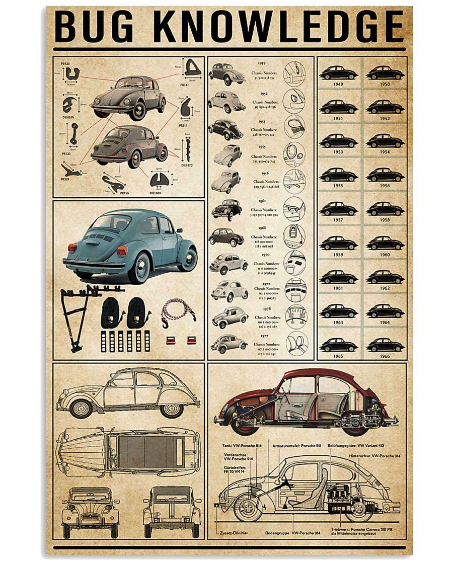 Bug Knowledge 11x17 Poster