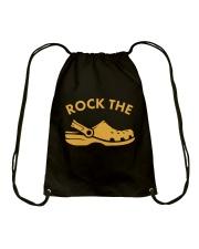 Rock The Crocs Drawstring Bag thumbnail