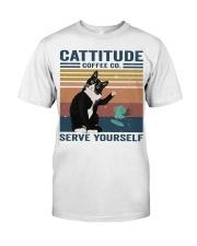 Cattitude Coffee Co Classic T-Shirt thumbnail