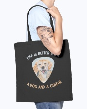 Life Is Better Tote Bag accessories-tote-bag-BE007-front-model-02