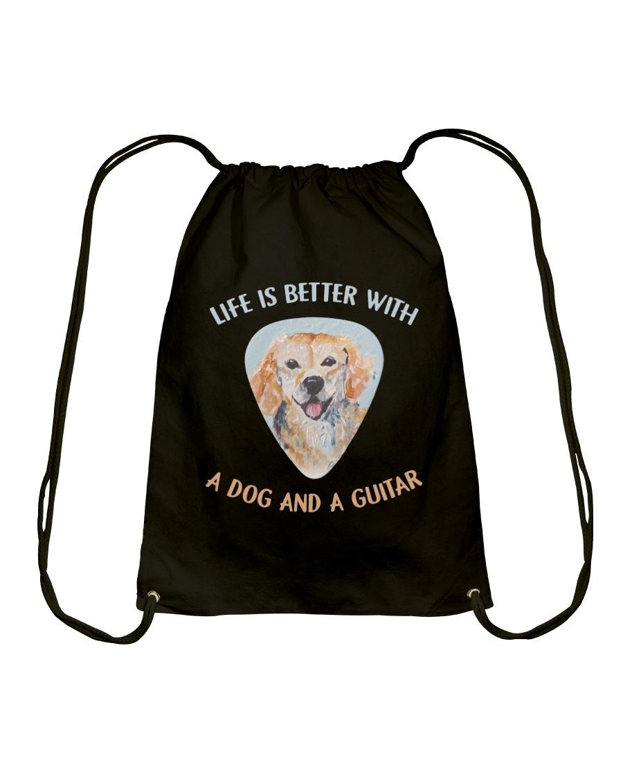 Life Is Better Drawstring Bag