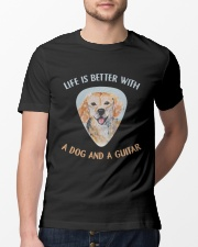 Life Is Better Classic T-Shirt lifestyle-mens-crewneck-front-13