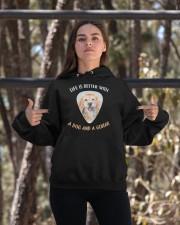 Life Is Better Hooded Sweatshirt apparel-hooded-sweatshirt-lifestyle-05
