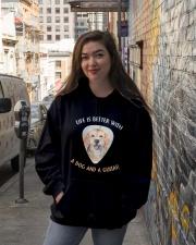 Life Is Better Hooded Sweatshirt lifestyle-unisex-hoodie-front-1