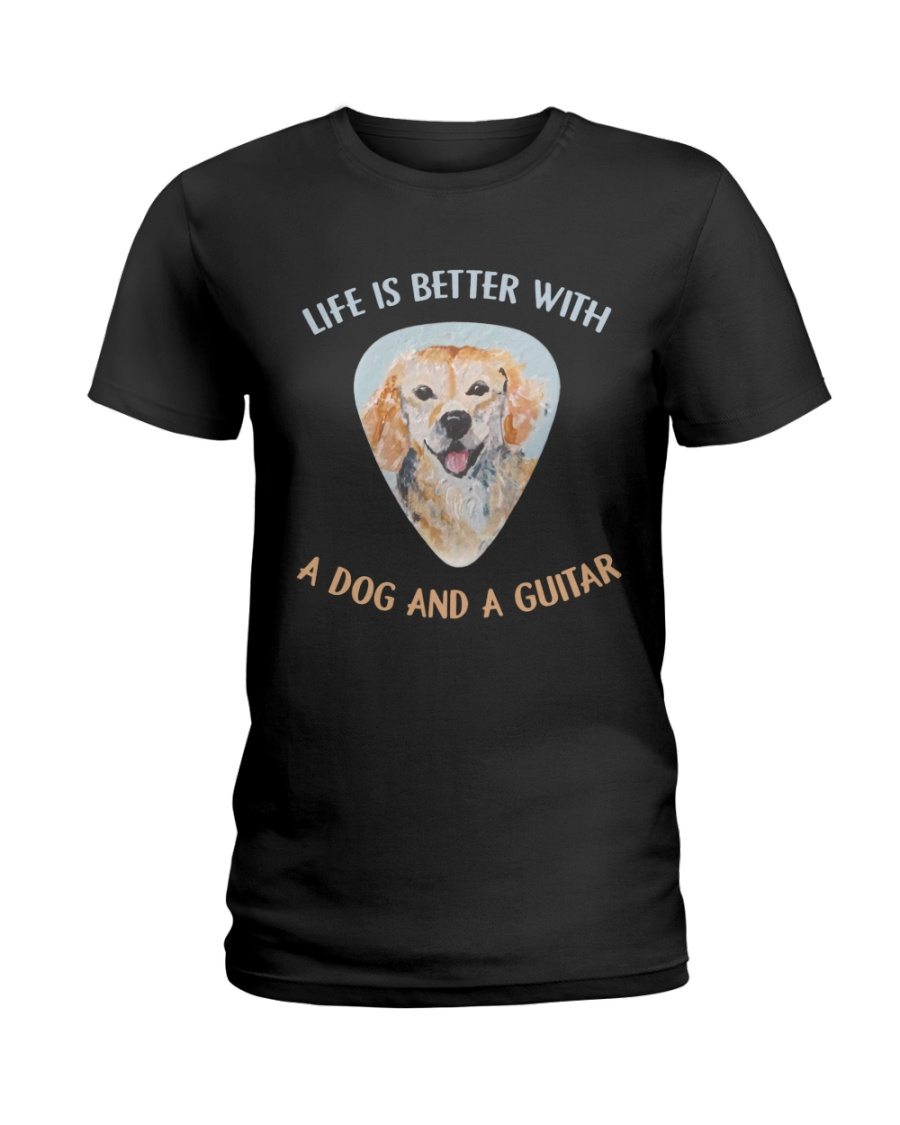 Life Is Better Ladies T-Shirt