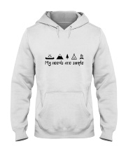 My Need Are Simple Hooded Sweatshirt front