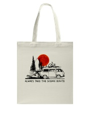 Always Take The Scenic Route Tote Bag thumbnail