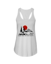 Always Take The Scenic Route Ladies Flowy Tank tile