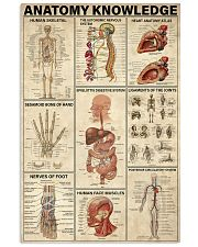 Anatomy Knowledge 11x17 Poster front