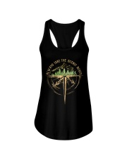 Always Take The Scenic Route Ladies Flowy Tank thumbnail