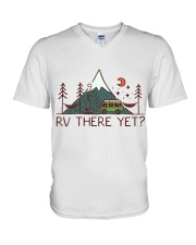 RV There Yet V-Neck T-Shirt thumbnail