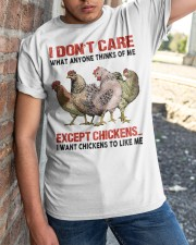 Except Chickens Classic T-Shirt apparel-classic-tshirt-lifestyle-27