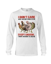 Except Chickens Long Sleeve Tee thumbnail
