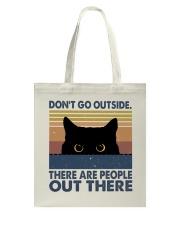 Don't Go Outside Tote Bag thumbnail