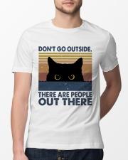 Don't Go Outside Classic T-Shirt lifestyle-mens-crewneck-front-13