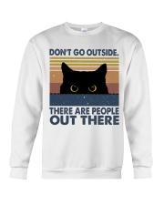 Don't Go Outside Crewneck Sweatshirt thumbnail