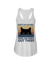 Don't Go Outside Ladies Flowy Tank thumbnail